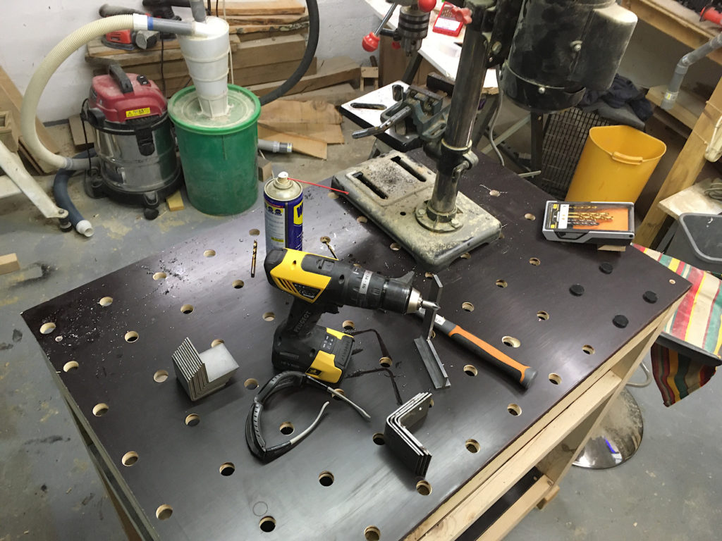 Construire Un Etabli Multifonction projet établi type mft - sla99